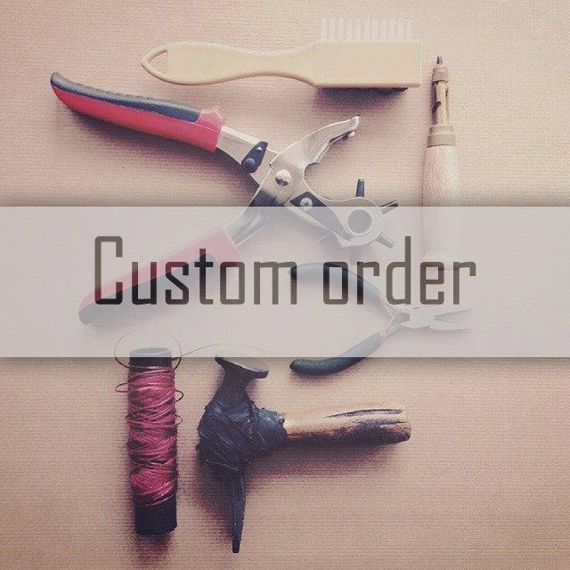 Image of Upper design customization for Plain toe Derby