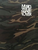 Image of Camo Stitched Font T Shirt