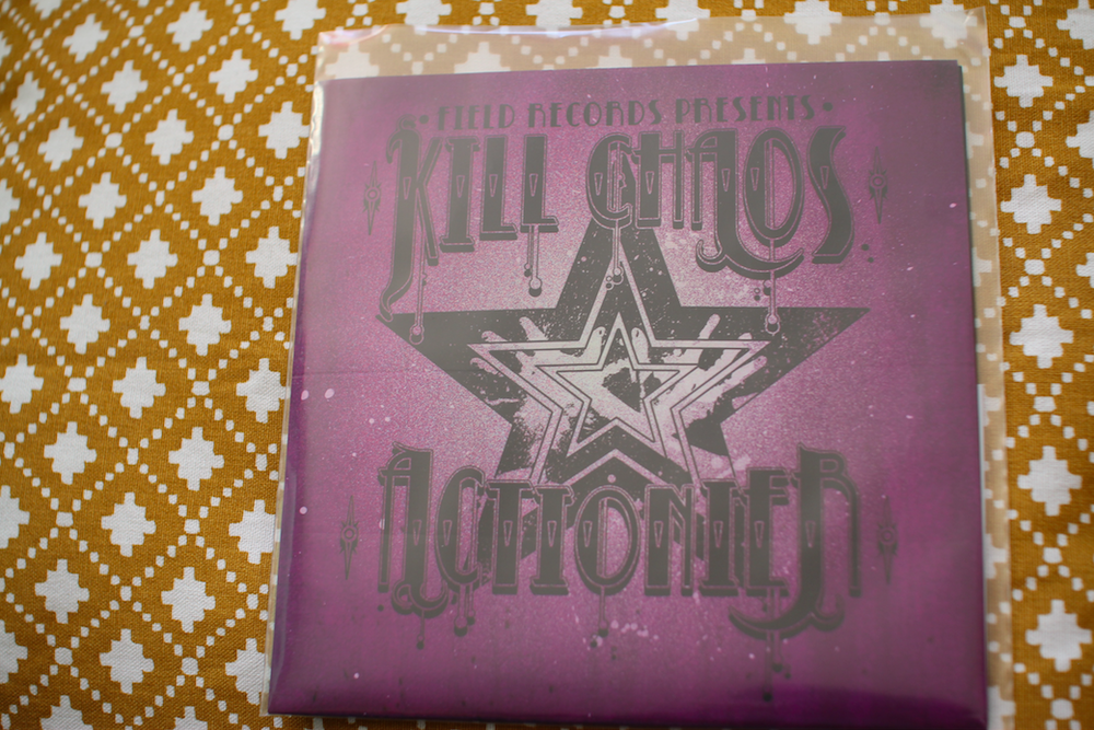 Image of Kill Chaos - Actionier Split 7""