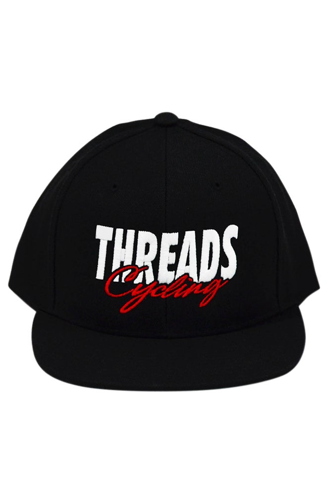 Image of THREADS Cycling Snapback - White