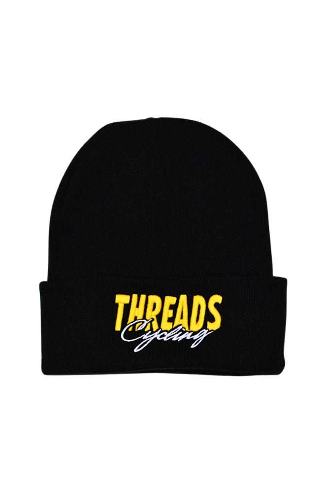 Image of THREADS Cycling Beanie - Yellow