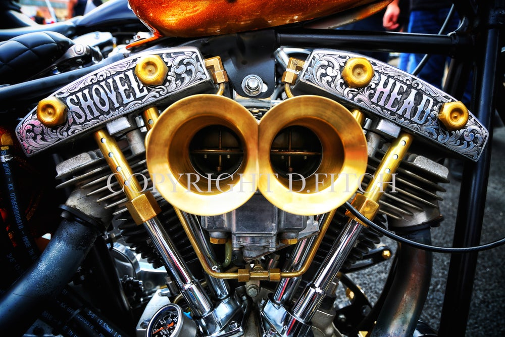 "Image of ""Shovelhead"" Signed Print"