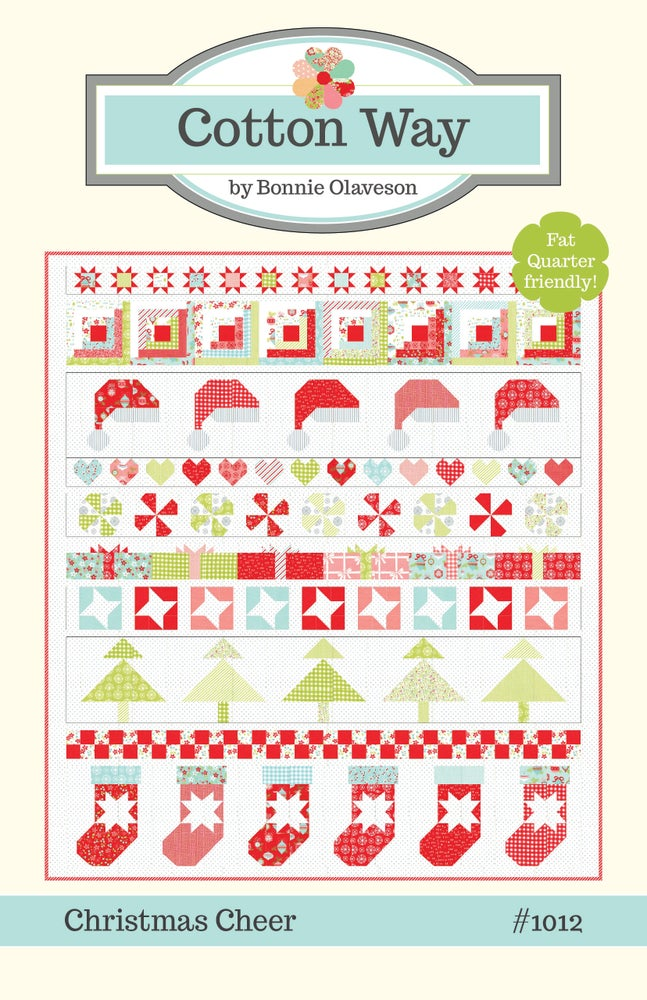 Christmas Cheer.Christmas Cheer Pdf Pattern 1012