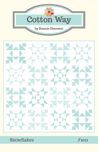 Image of Snowflakes Paper Pattern #1011