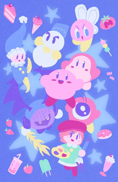 Image of Kirby Party Print