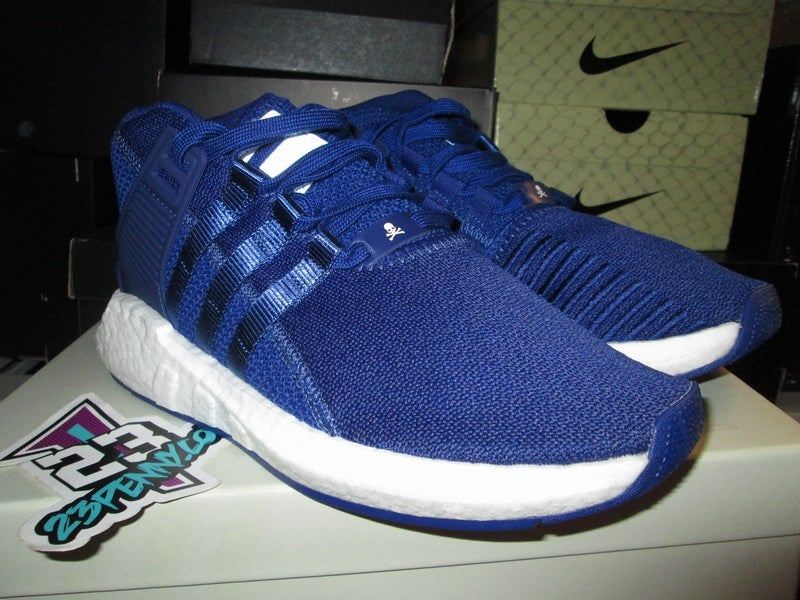 "Image of adidas Consortium Equipment Support Mid ""Mastermind Japan - Blue"""