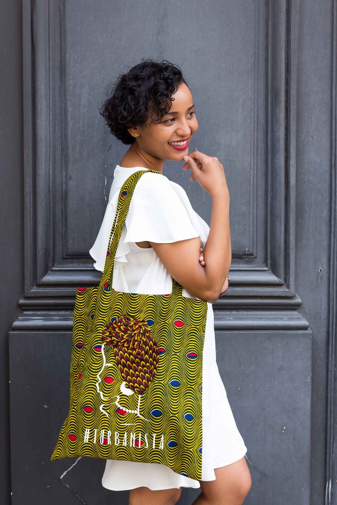 Image of Tote Bag Oeil De Ma Rivale Turbanista 20% OFF