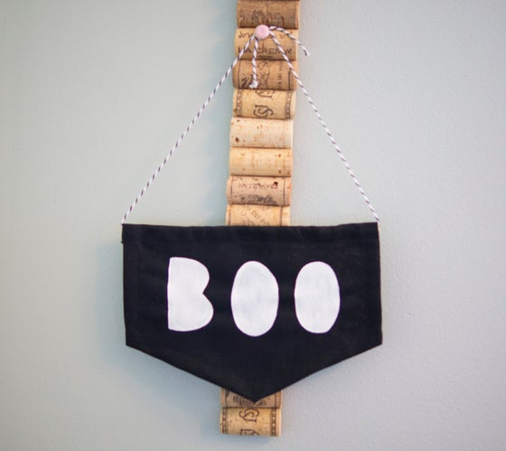 Image of BOO MINI FLAG