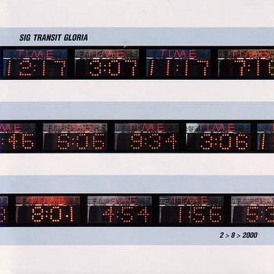 """Image of Sig Transit Gloria """"2>8>2000"""" CDEP"""