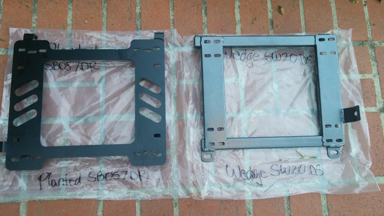 Image of 91-99 MR2 MK2 SW20 Custom Seat Bracket Adapters