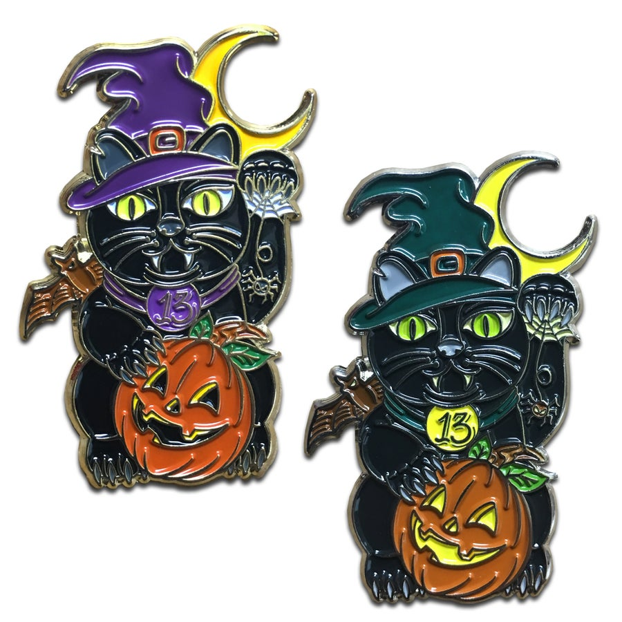 Image of Lucky Binx - Lapel Pin