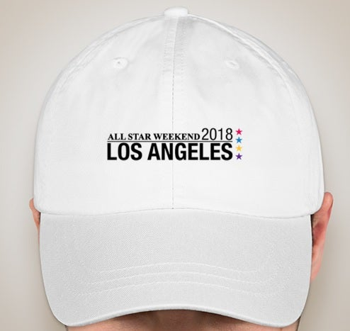 Image of NBA All-Star Weekend 2018 Los Angeles White Hat