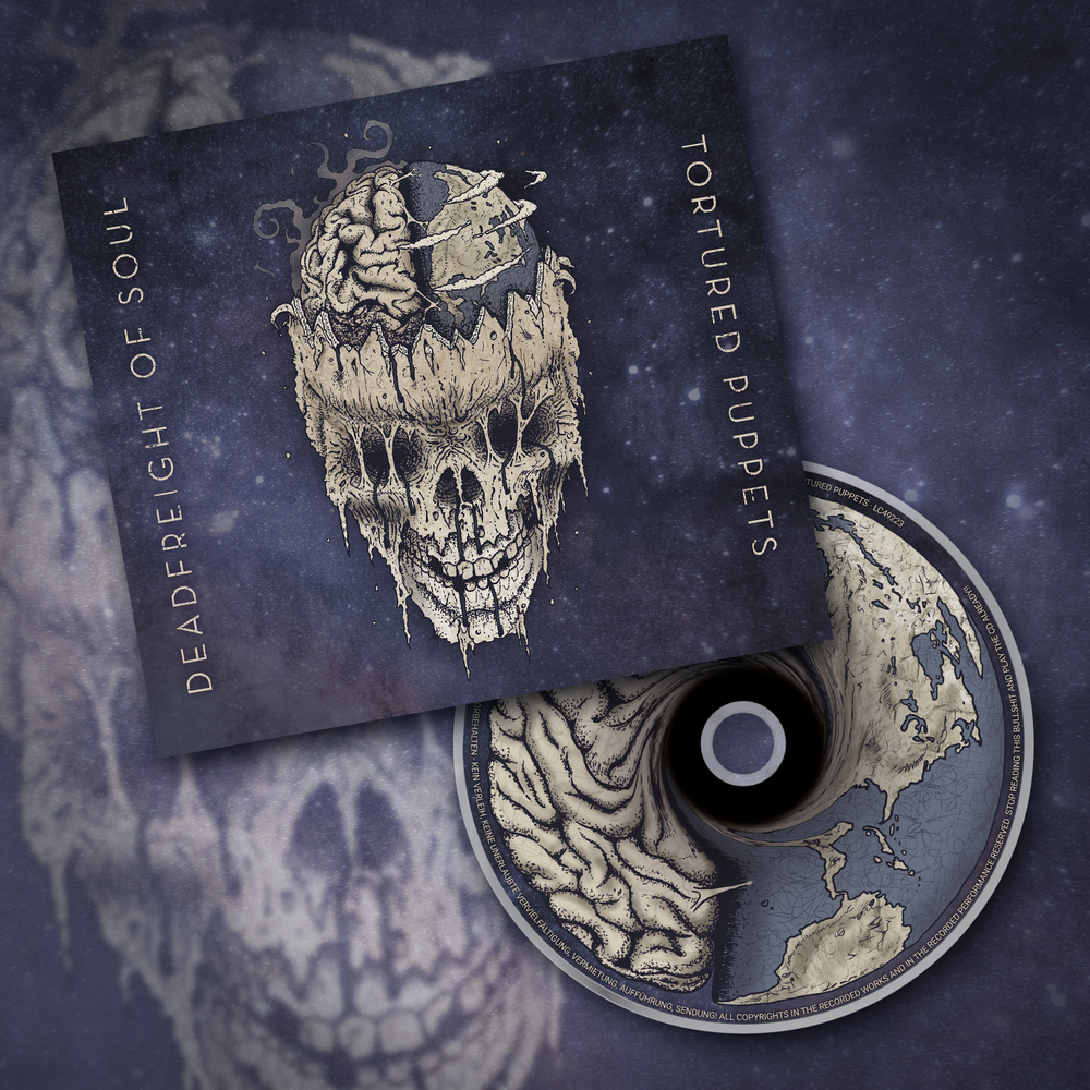 Image of Tortured Puppets Album  (CD)