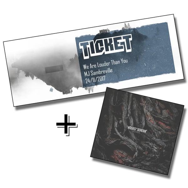 Image of Prévente + LP Wolves Scream - VESTIGES