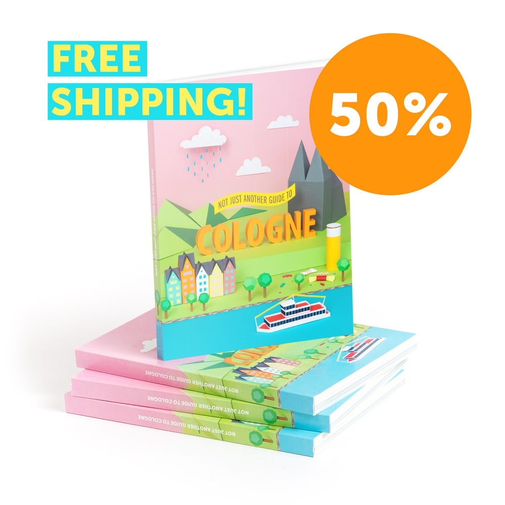 Image of Not just another guide to Cologne - Guide book - SALE !! 50% !!