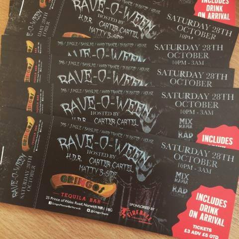 Image of Rave-O-Ween Ticket