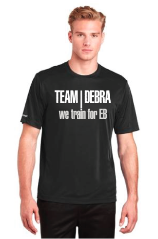 Image of TEAM DEBRA Athletic Training T-Shirt