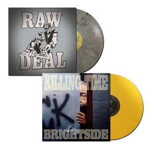 "Image of RAW DEAL ""Demo"" and KILLING TIME ""Brightside"" Vinyl LPs"