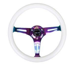 Image of NRG Glow in the Dark Wheel - Neo Chrome