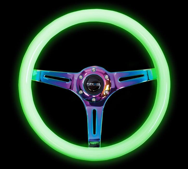 Image of NRG ST-015MC-GL NeoChrome Glow Wheel 350MM