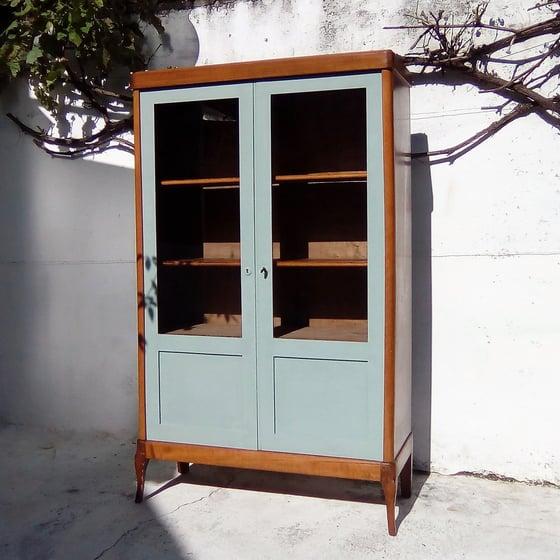 Image of Bibliothèque vitrine revisitée