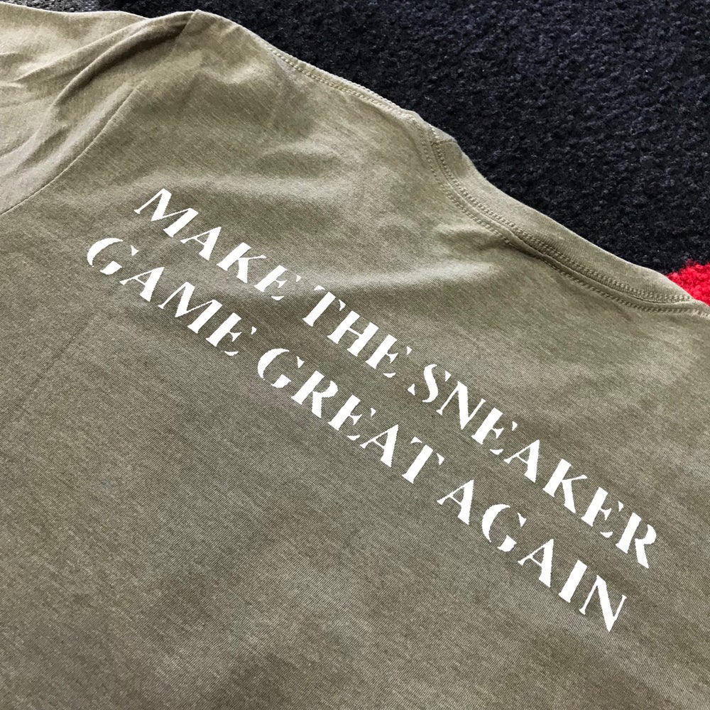 "Image of Sole Food Kicks ""Make The Sneaker Game Great Again"" Tee"
