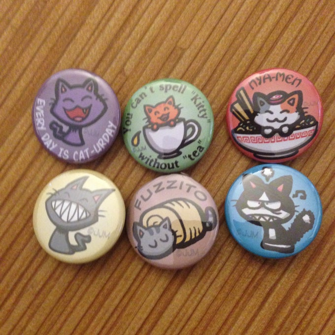 Image of Kitty Buttons