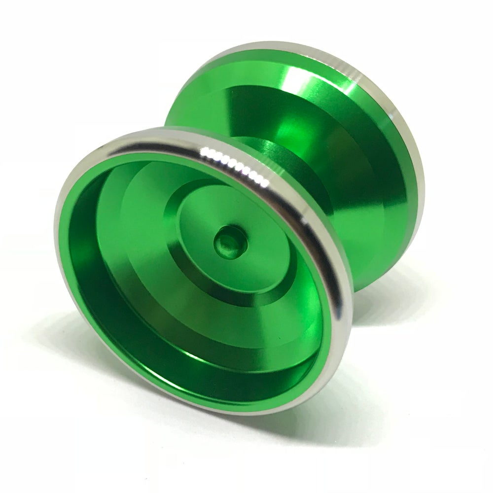 Image of Singwon Yoyo Patriot Bimetal (Green)