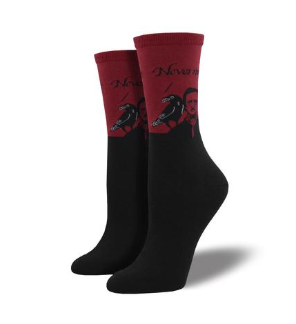 Image of Edgar Allan Poe Socks