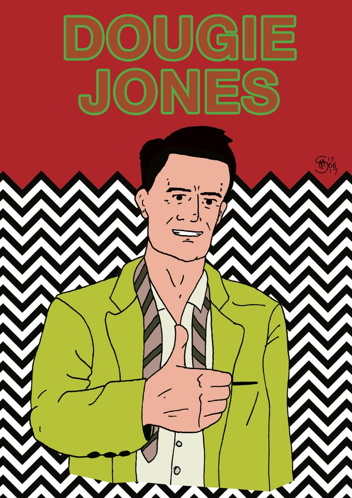 Image of Dougie Jones Print