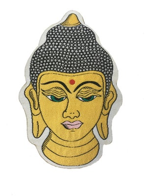Image of Golden Buddha Iron-on Patch
