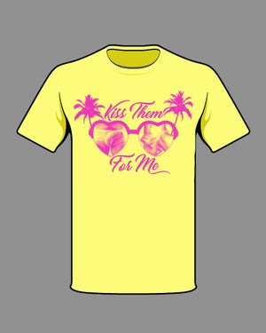 """Image of """"KISS THEM FOR ME"""" TEE"""