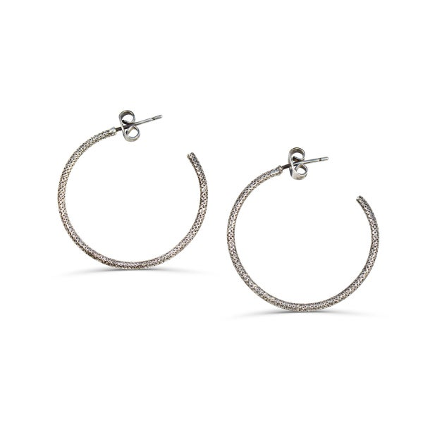 Image of Créole brillante médium Shiny Summer // Medium Shiny Hoop
