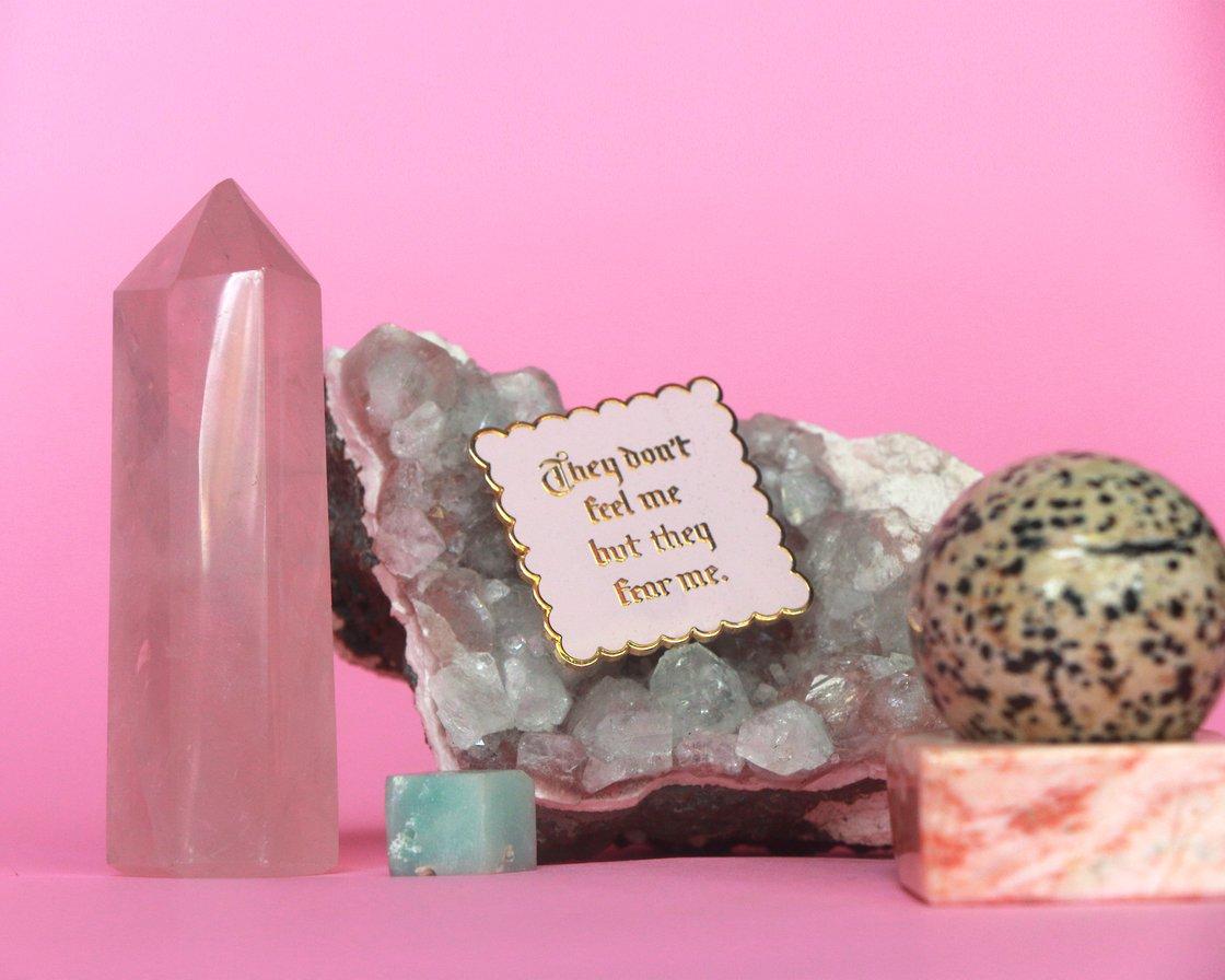 Image of The Millie cloisonné enamel pin