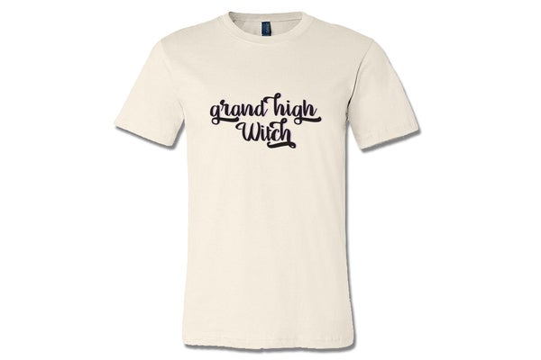 Image of Grand High Witch Unisex Halloween Tshirt