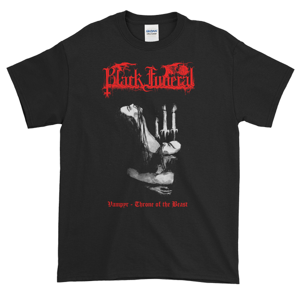 "Image of Black Funeral - ""Vampyre - Throne of the Beast"" shirt"