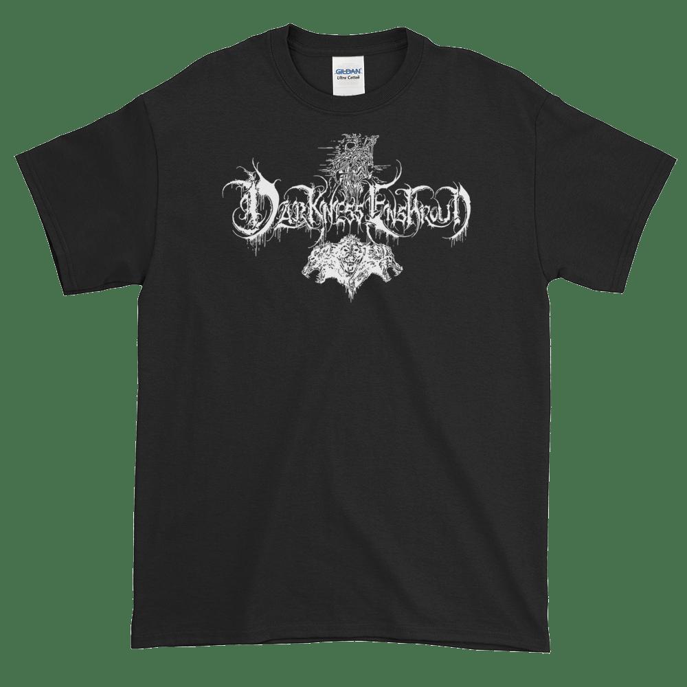 Image of Darkness Enshroud logo shirt