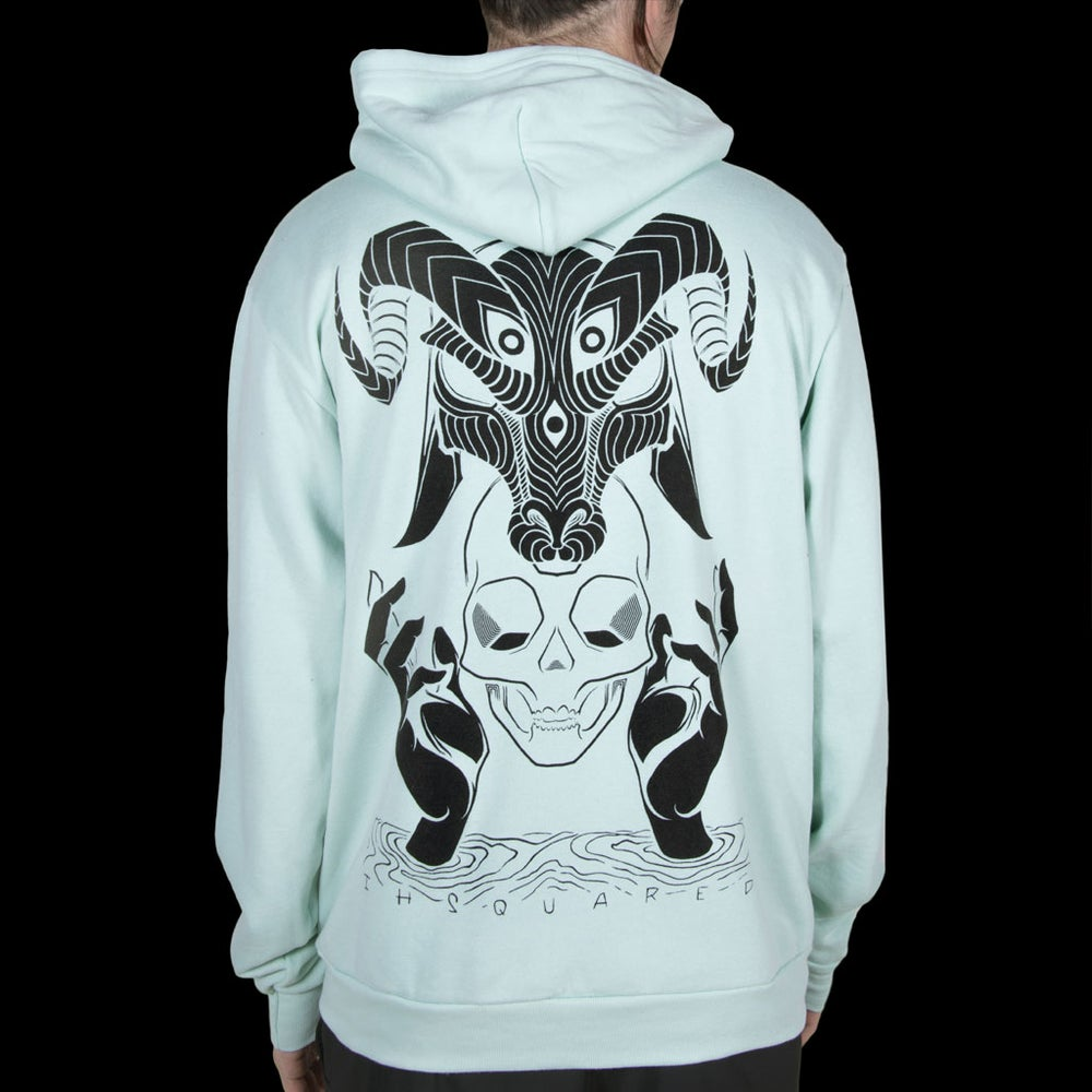 Image of DEVIL HOODIE SEA FOAM