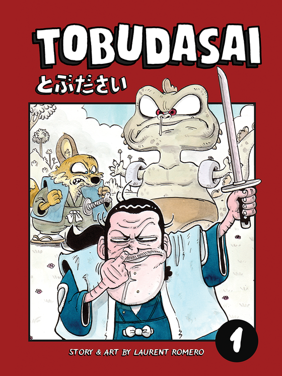 Image of TOBUDASAI VOLUME 1 - COMIC BOOK