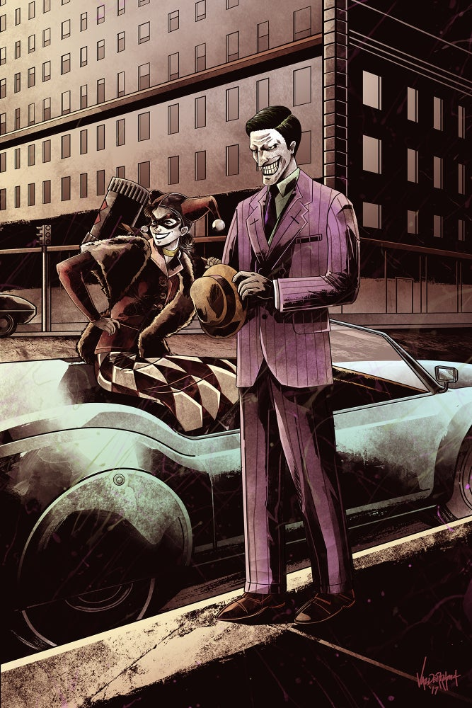 "Image of ""1950"" - Inspired by Joker & Harley"