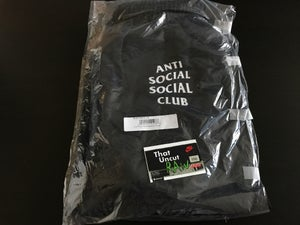 "Image of anti social social club ""second floor"" sweatpants, black, brand new"