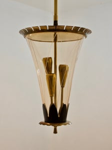 Image of Glass Lantern, Italy 1950s