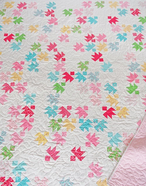 Image of PDF ONLY - Starlings Quilt