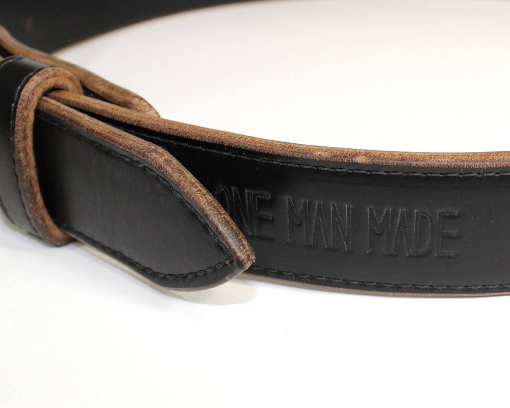Image of FORGED BELT - BLACK