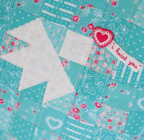 Image of PDF - Lovebird Tote Pattern