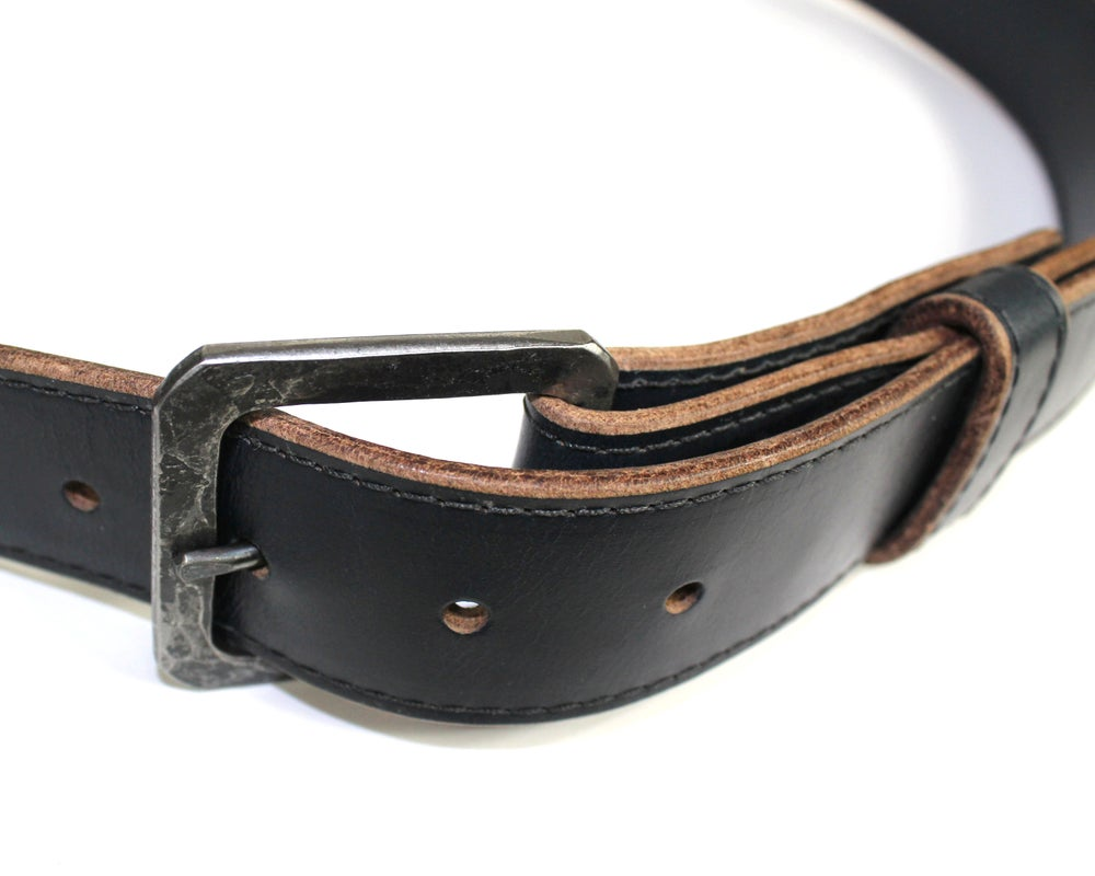 Image of FORGED BELT - NAVY