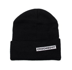 Image of ONSOMESHIT - BOX LOGO BEANIE