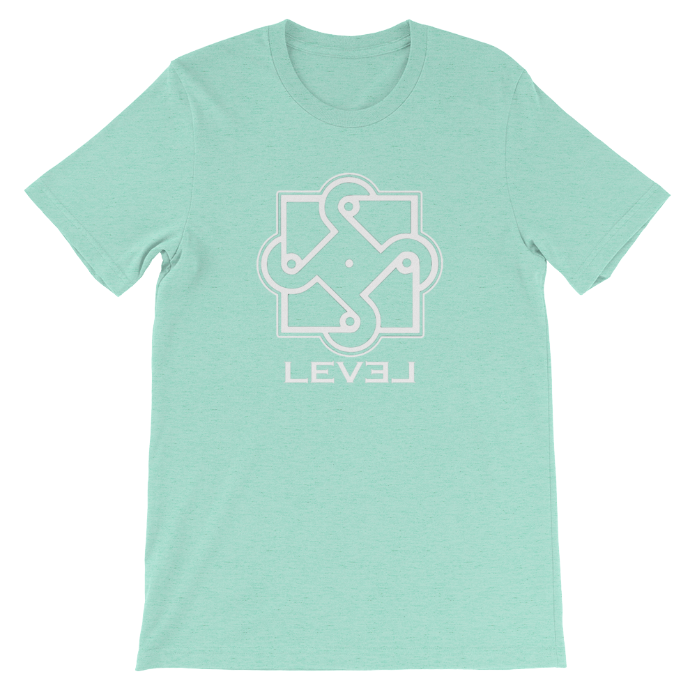 Image of LEVEL Logo Tee (Unisex) Multiple Colors