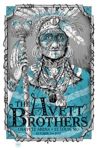 Image of The Avett Brothers St. Louis, MO Variant