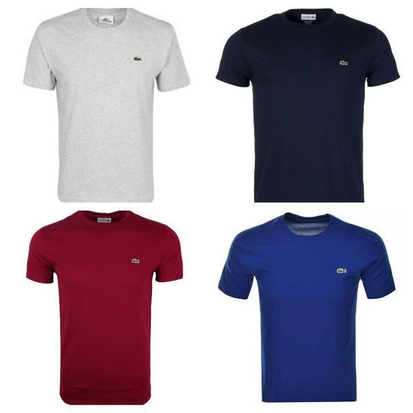 Image of LACOSTE SLIM FIT T-SHIRT SHORT SLEEVE NEW WITH TAG (S.M,L,XL)